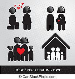 icone, persone