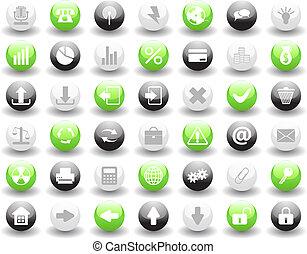 icone, set