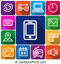 icone, smartphone