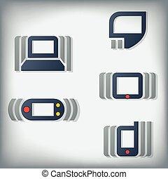 icone, tecnologia