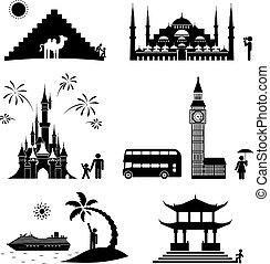 icone, viaggiare