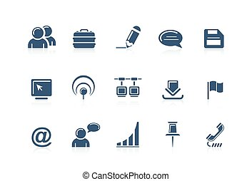 icone, web, piccolo, 2, internet, -
