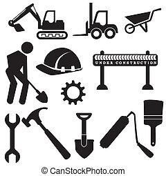 iconen, bouwsector