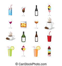 iconen, dranken