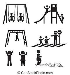 iconen, kinderen