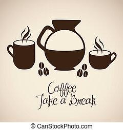 iconen, koffie