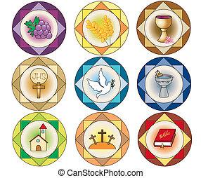 iconen, religie