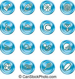 iconen, sporten
