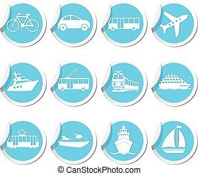 iconen, vervoer
