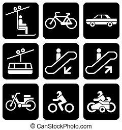 iconen, vervoeren