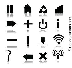 iconen, web