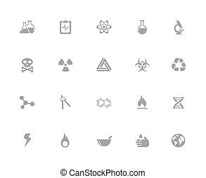 //, iconen, wetenschap, 32px, reeks, witte