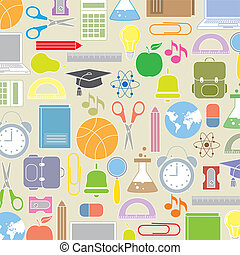 iconerne, baggrund, skole