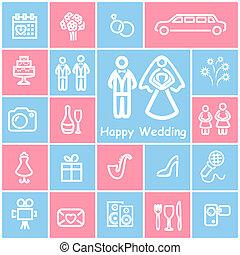 iconerne, bryllup