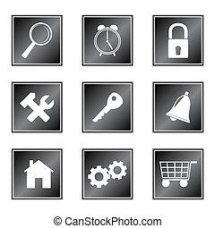 iconerne, sæt