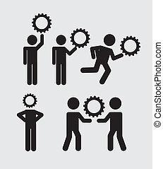 iconerne, teamwork