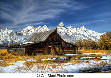 Iconic Barn in the Grand Tetons