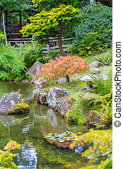 Iconic Japanese Tea Garden in Golden Gate Park. - Detail of ...