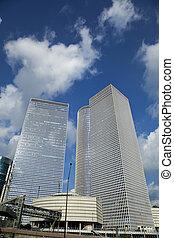 Iconic Skyscrapers Tel-Aviv