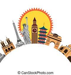 iconics monuments of the world