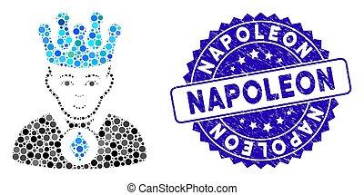 icono, angustia, estampilla, mosaico, ethereum, napoleon,...