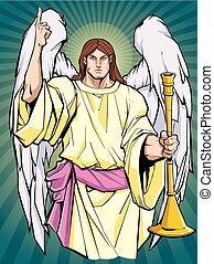 icono, arcángel, gabriel