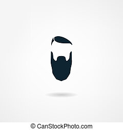 icono, barba
