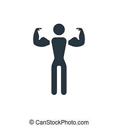 icono, condición física, 2