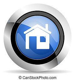 icono de la casa, hogar, señal