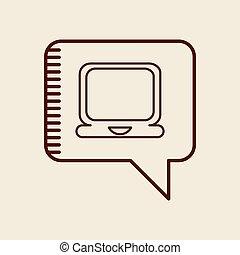 icono de la computadora