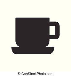 icono de taza