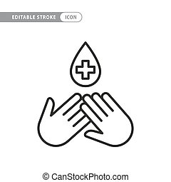 icono, desinfección
