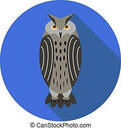 icono, eagle-owl