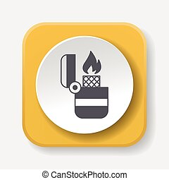 icono, encendedor