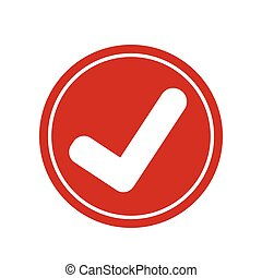 icono, garrapata, marca de verificación