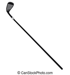 icono, palo de golf
