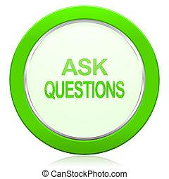 icono, pregunte, preguntas
