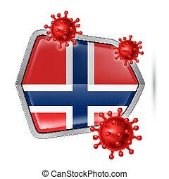 icono, protector, noruega