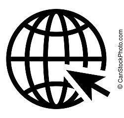 icono, sitio web