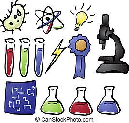iconos, ciencia