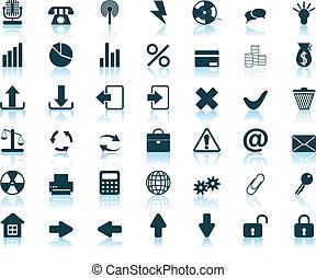 iconos, conjunto