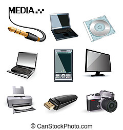 iconos de computadora
