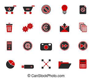 iconos de la tela