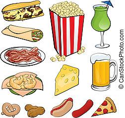 iconos del alimento