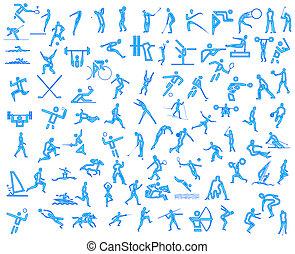 iconos, deporte