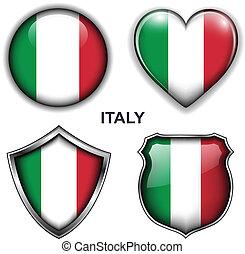 iconos, italia