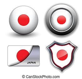 iconos, japón