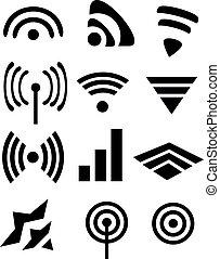iconos, wifi