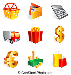 icons., 買い物