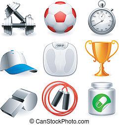 icons., condicão física